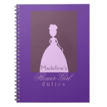 Flower girl Planner Note Books
